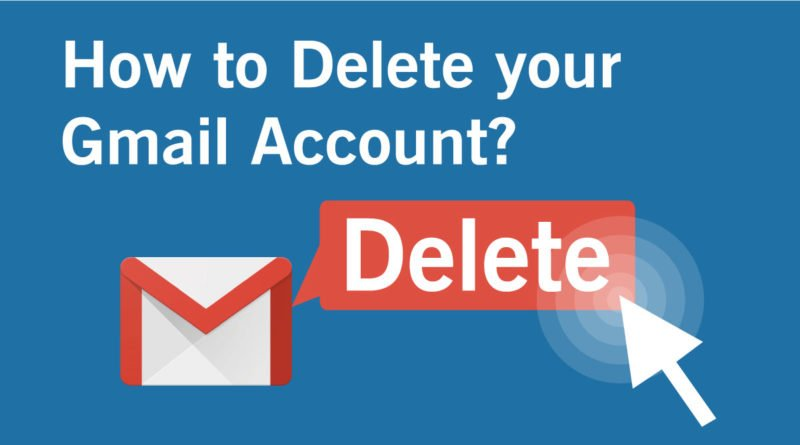 delete account gmail