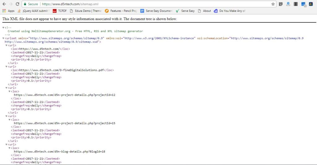 how to create sitemap for google webmaster xml sitemap creation