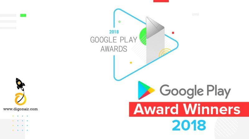 google Play Awards winners 2018
