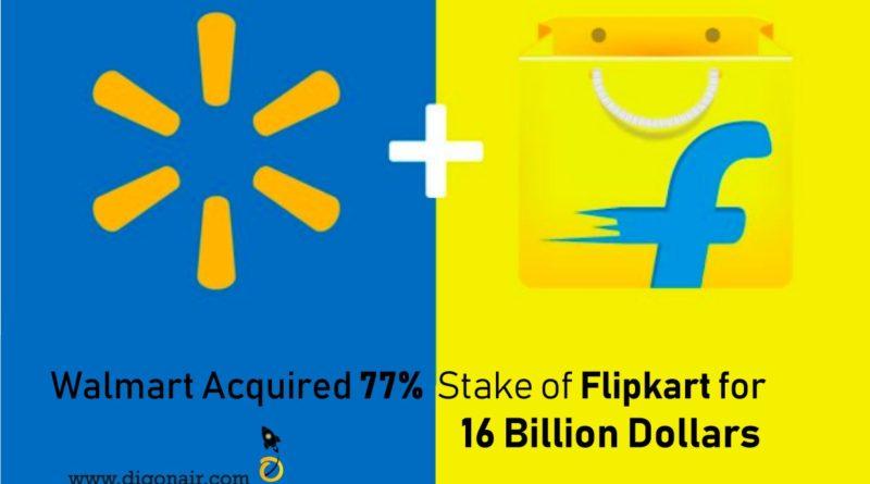 Walmart Acquired Flipkart