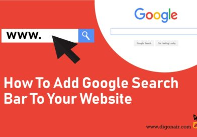 customized google search bar to website